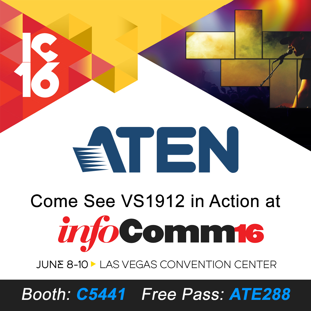 ATEN at InfoComm 2016