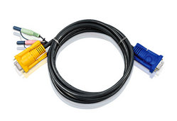 1.8M Video KVM Cable with Audio