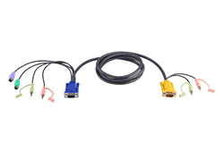 3M PS/2 KVM Cable with 3 in 1 SPHD and Audio