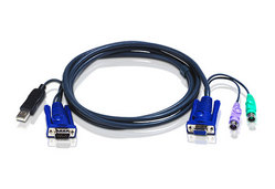 3M USB KVM Cable with built-in PS2 to USB Converter
