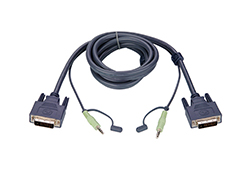 1.8M DVI-D Single-Link KVM Cable