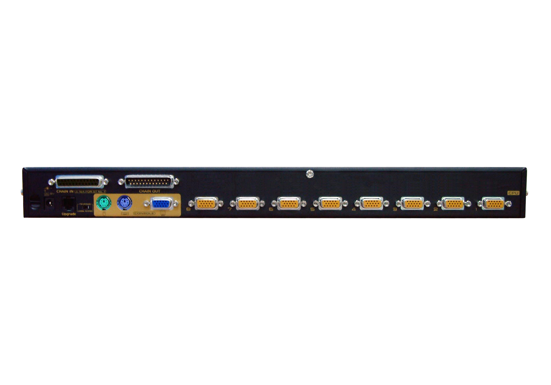 Comutador KVM de 8 portas PS/2 VGA com porta de ligação em cadeia-2
