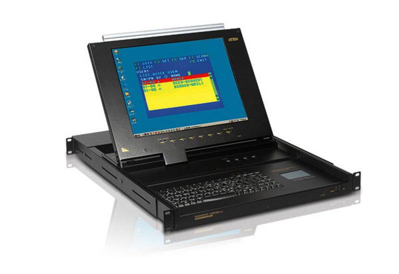 8/16-Port Slideaway LCD KVM  Switch-1
