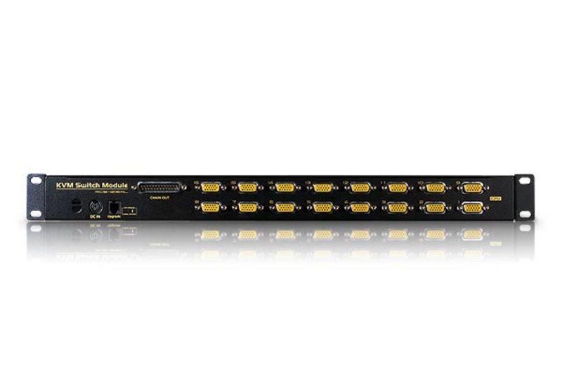 Gaveta LCD KVM 8/16-Portas Slideaway-2