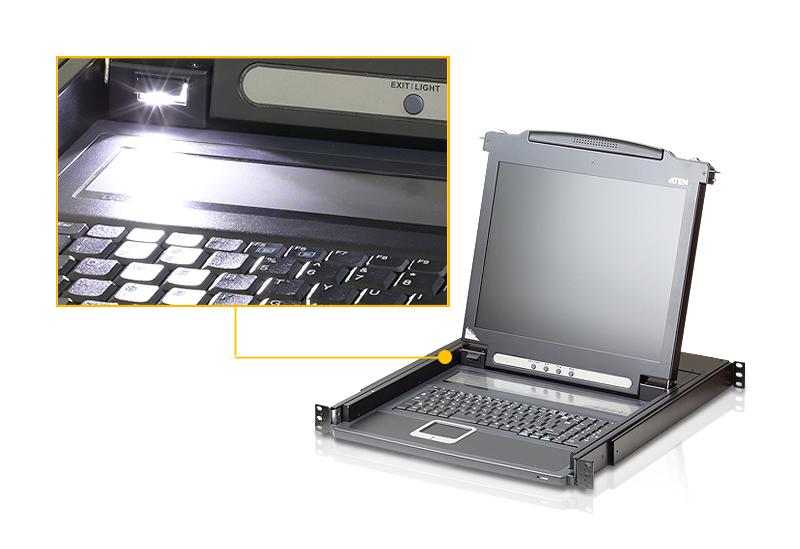 """Consola PS/2 VGA LCD 17""""-4"""