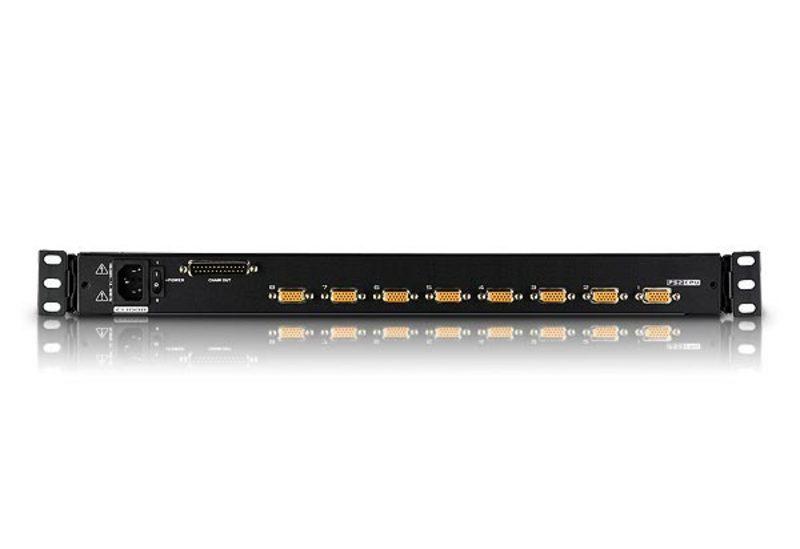 8-Port 17in. Single Rail TAA Complian LCD KVM Switch-2