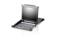 16-Port Slideaway™ 19in. Single Rail LCD KVM