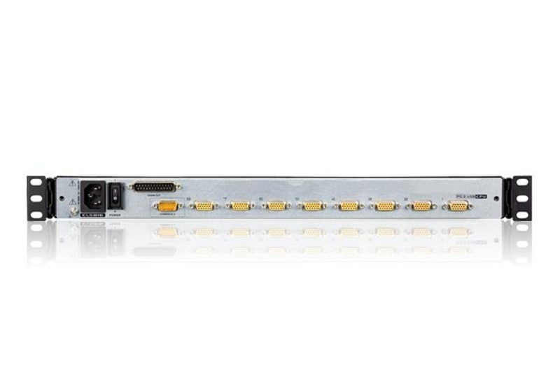 8-Port PS/2-USB VGA Dual Rail LCD KVM Switch with Daisy-Chain Port and USB Peripheral Support-2