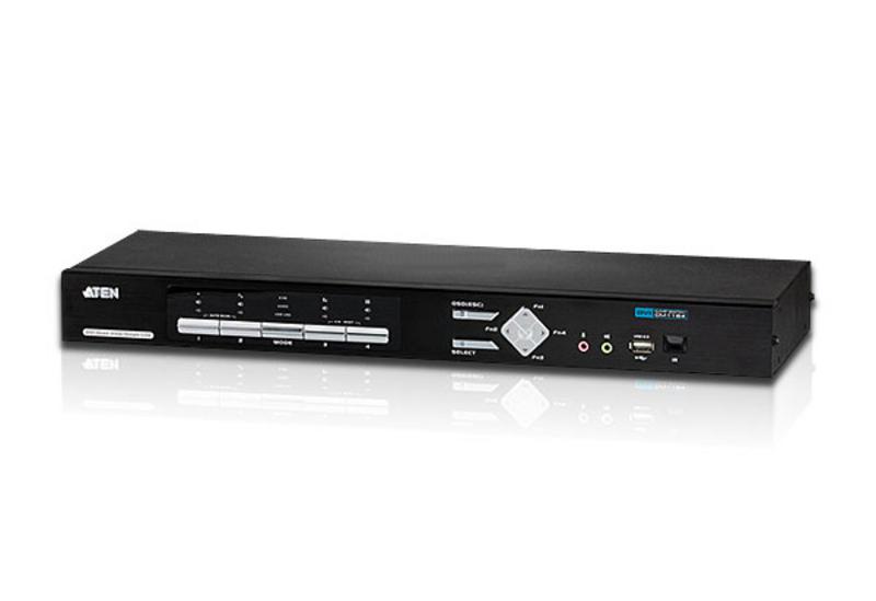 Conmutador KVMP™ multivista DVI USB de 4 puertos-1