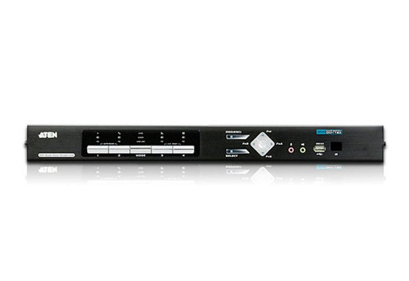 4-Port USB DVI Multi-View/Audio KVMP™ Switch-3
