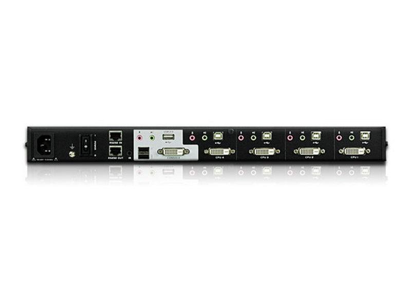 Conmutador KVMP™ multivista DVI USB de 4 puertos-2