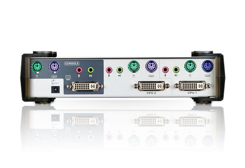2-Port PS/2 DVI KVM Switch-2