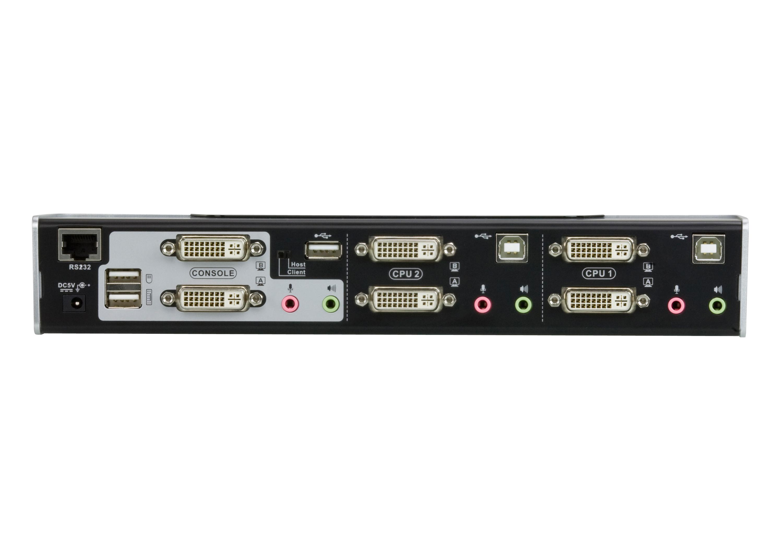 2端口USB DVI双屏幕KVMP™多电脑切换器-2