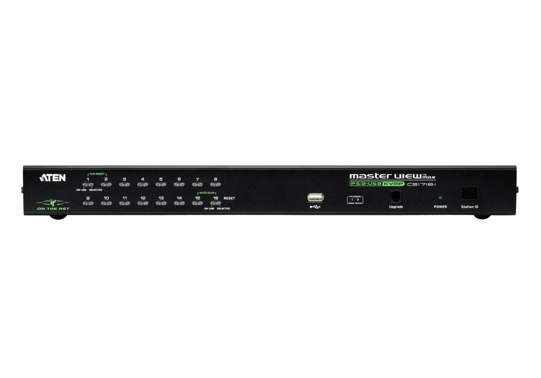 1 acesso de partilha local/remota Comutador KVM de 16 portas PS/2-USB através de IP-3
