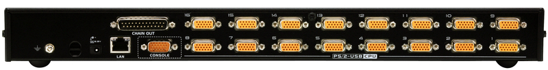 16-Port PS/2-USB KVM with TAA Compliance-2