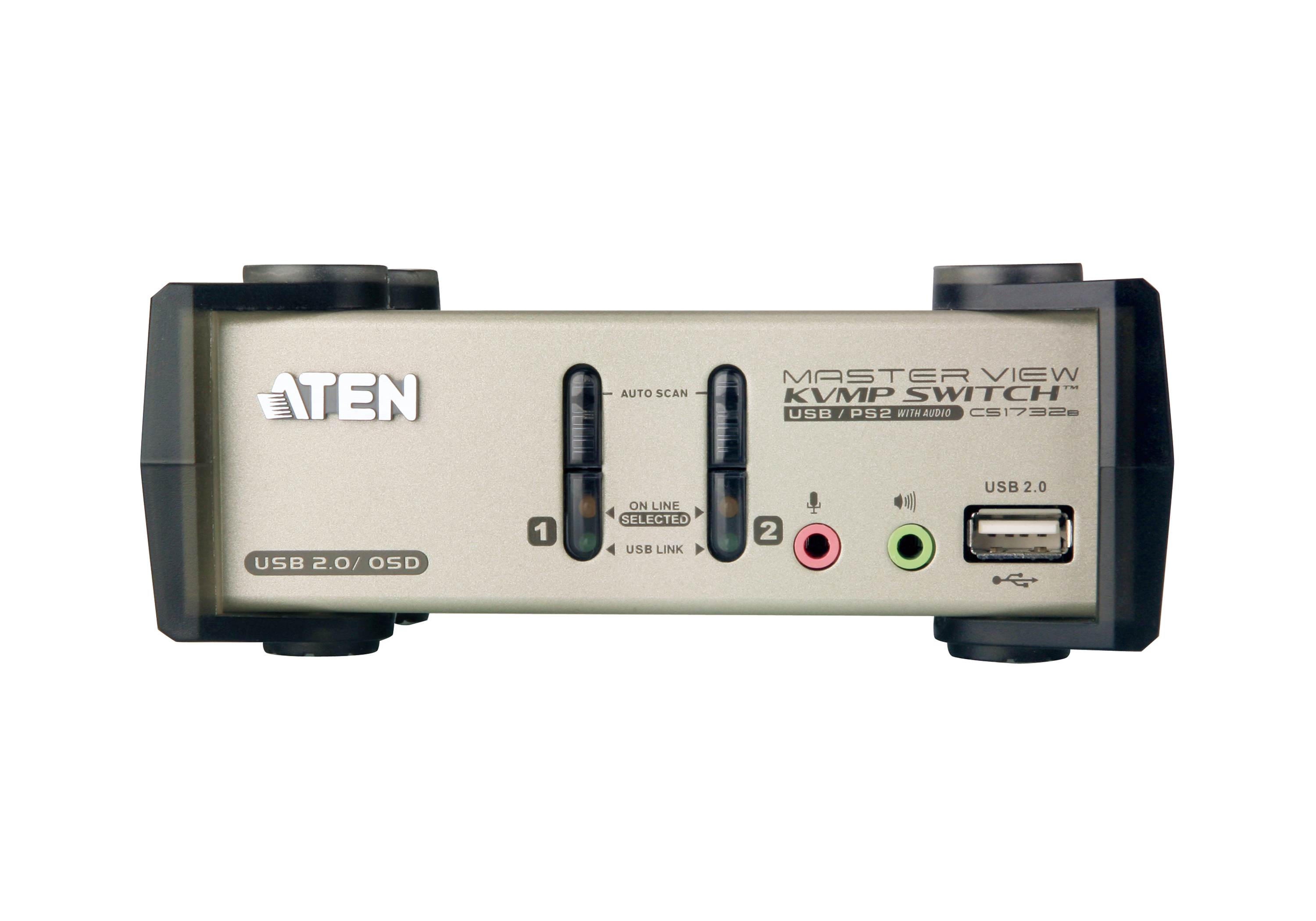 2-Port PS/2-USB VGA/Audio KVMP™ Switch with OSD-3
