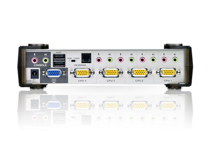 4-Port PS/2-USB VGA/Audio KVMP™ Switch-2