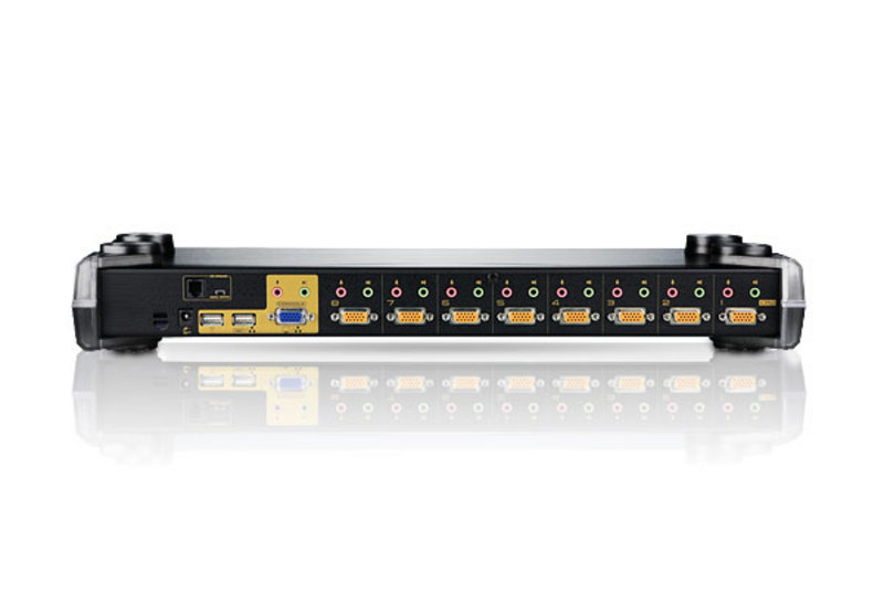 8-Port PS/2-USB VGA/Audio KVM Switch-2
