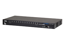 Commutateur KVM HDMI/audio USB 16 ports