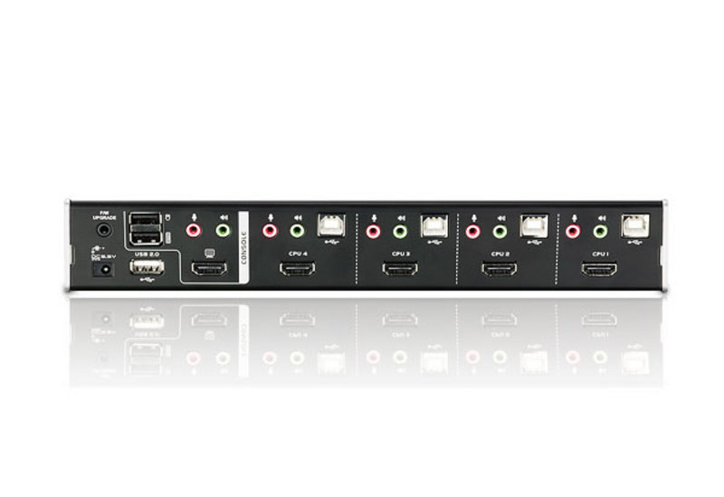 4-Port USB HDMI/Audio KVMP™ Switch-2