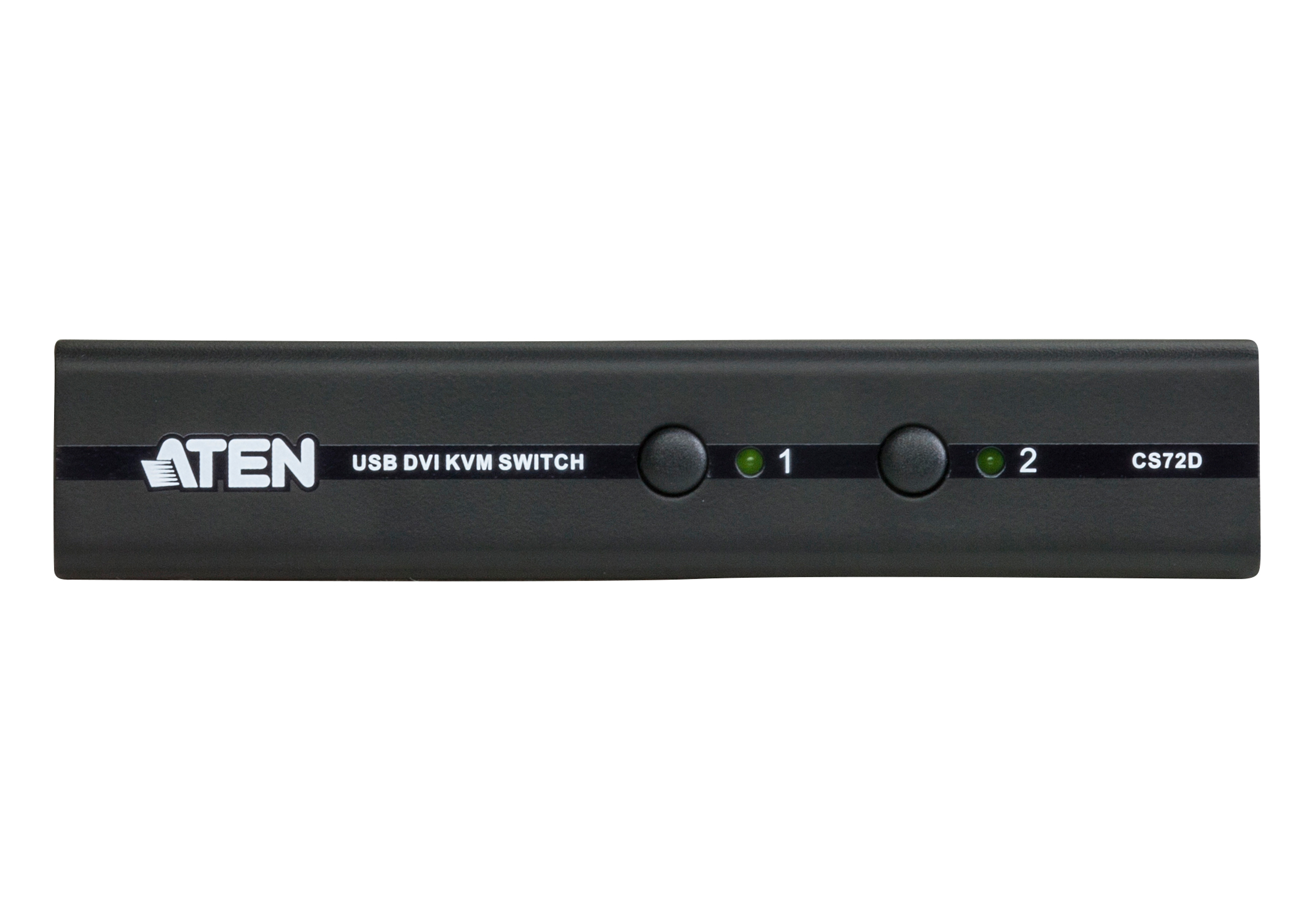 2-Port USB DVI/Audio Slim KVM Switch-3