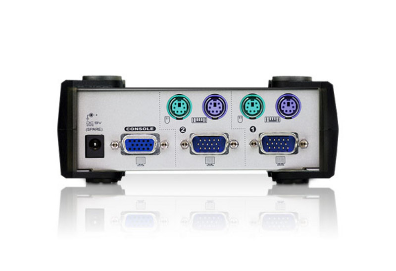 2-Port PS/2 KVM Switch-2