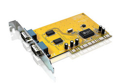 RS232 2 port PCI card