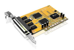 RS232 4 port PCI card