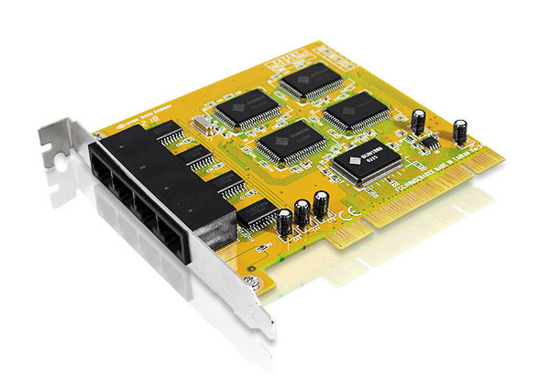 RS-232 4 Port PCI card with Re-Map-1