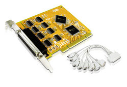 Placa PCI 8 portas RS-232