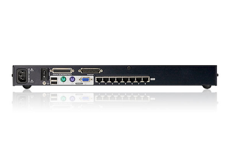 8-Port Cat 5 KVM Switch with Daisy-Chain Port-2