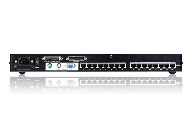 16-Port Cat 5 High-Density KVM Switch-2