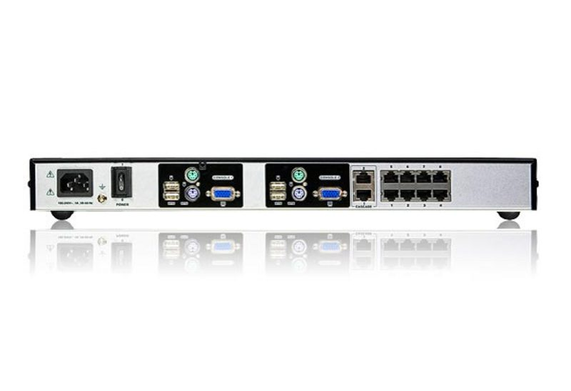 KVM Switch 8-Portas Cat 5 Alta Densidade (High Density)-2