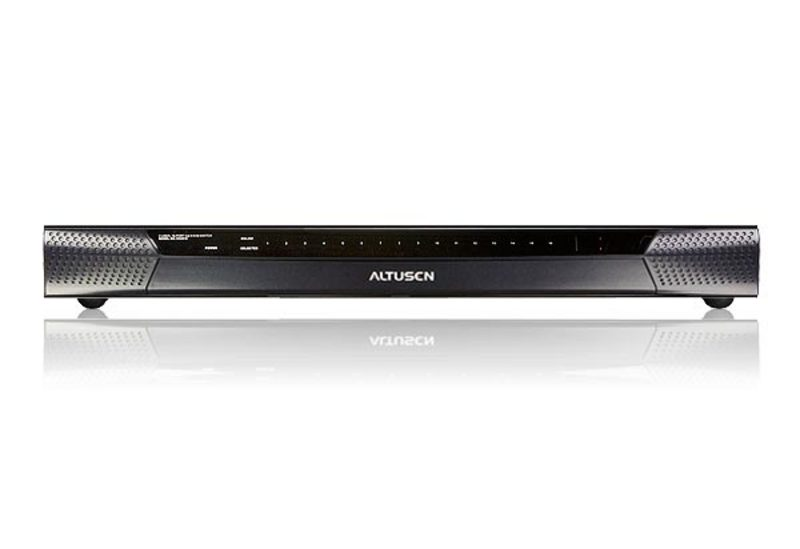 16-Port Cat 5 High Density KVM Switch-3