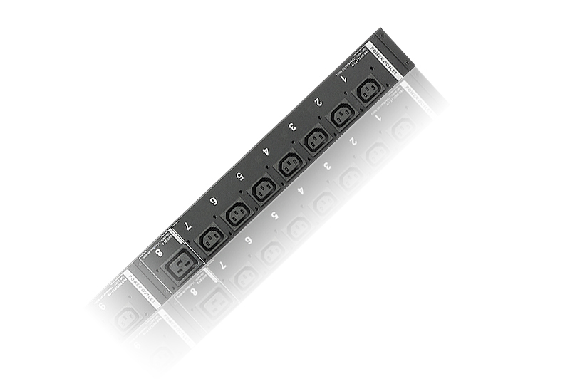 30A/32A 24-Outlet Metered Low Profile eco PDU-1