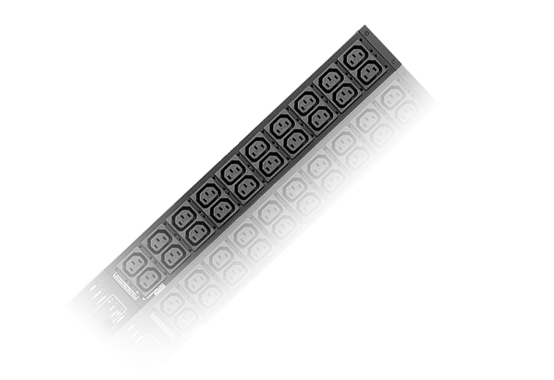 30A/32A 40-Outlet Metered Low Profile eco PDU-1