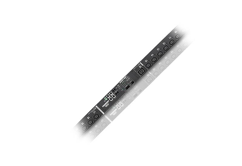 計測機能搭載 温湿度センサー対応 24ポート eco PDU (IEC)-1