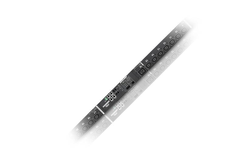 計測機能搭載 温湿度センサー対応・POP機能対応 24ポート eco PDU (IEC)-1
