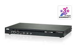 16-Port Serial Console Server with Dual Power/LAN
