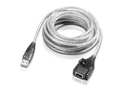 5m USBエクステンダーケーブル(最大25mチェーン接続対応)
