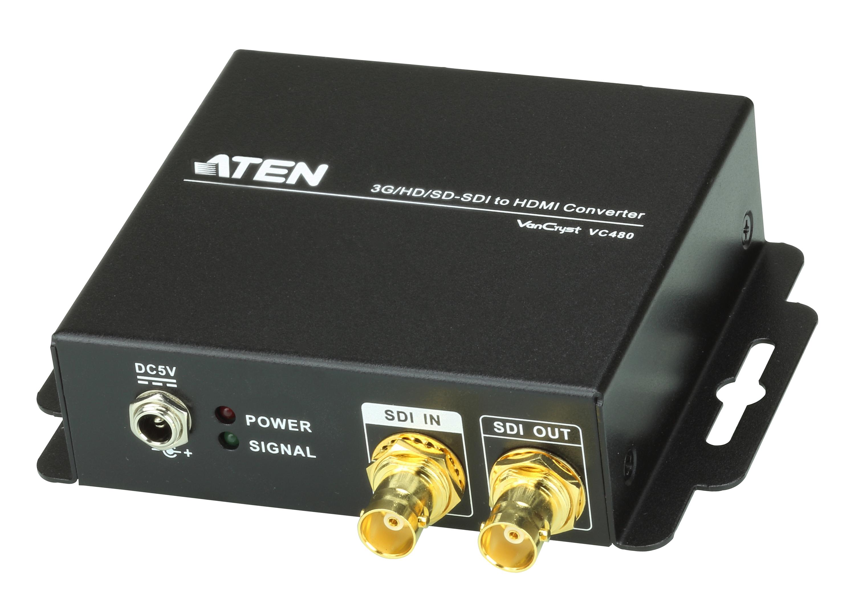 Convertidor 3G-SDI a HDMI/Audio-1