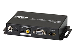 HDMI to VGA/Audio Converter with Scaler