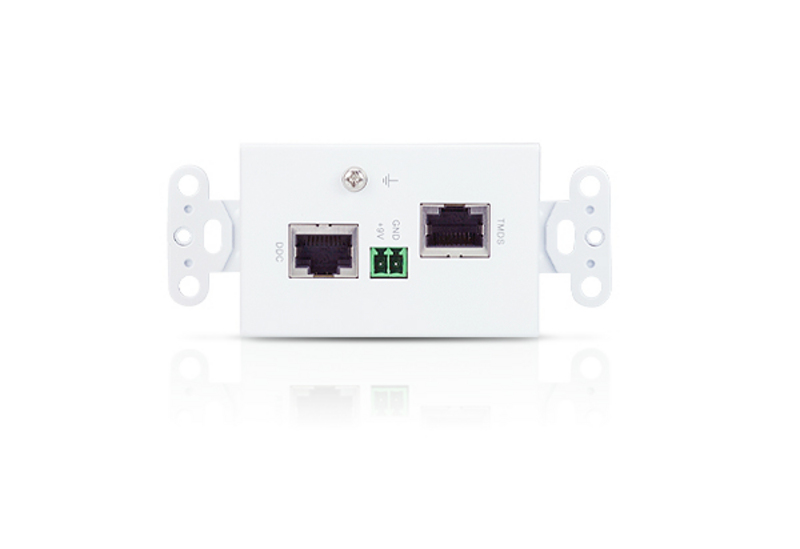 DVI/Audio Cat 5 Extender Wall Plate (US) (1920 x 1200@40m)-2
