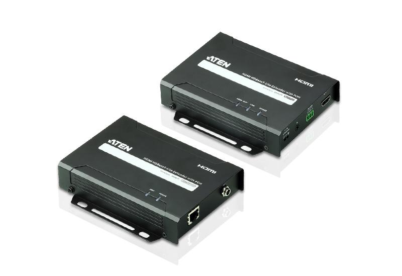 HDMI HDBaseT-Lite信号延长器+POH功能 (4K@40m) (HDBaseT B级)-1