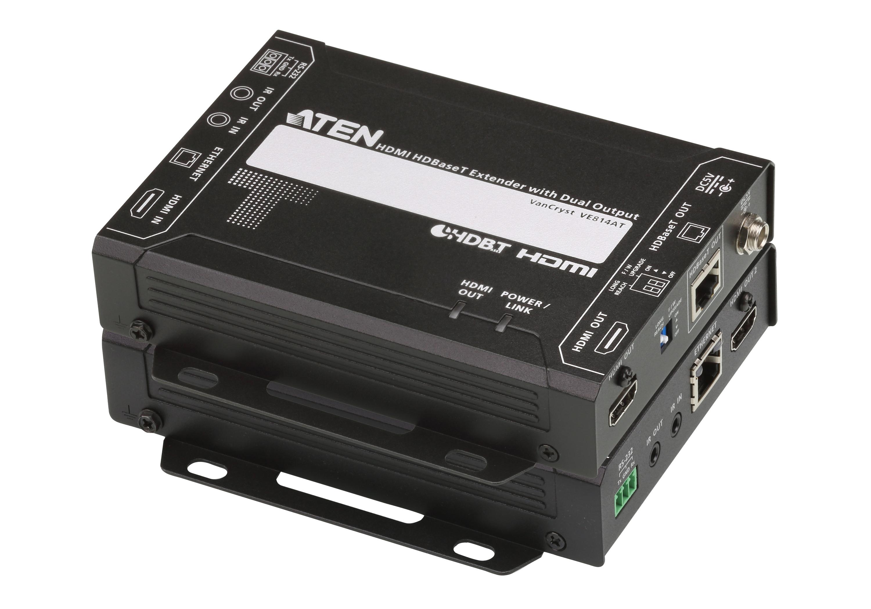 HDMI HDBaseT Extender with Dual Output (4K@100m) (HDBaseT Class A)-1