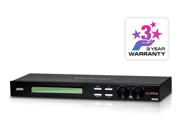 Conmutador de matriz VGA/Audio 8x8-1