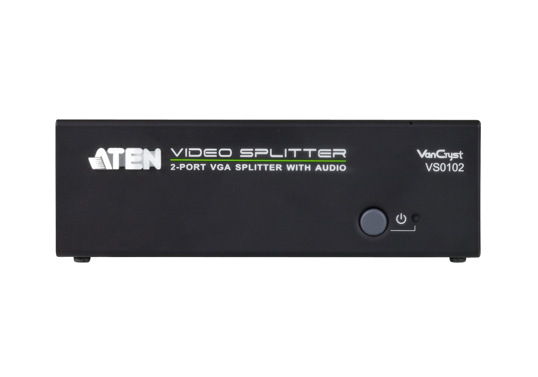 Repartidor VGA/Áudio de 2 portas (450MHz)-3