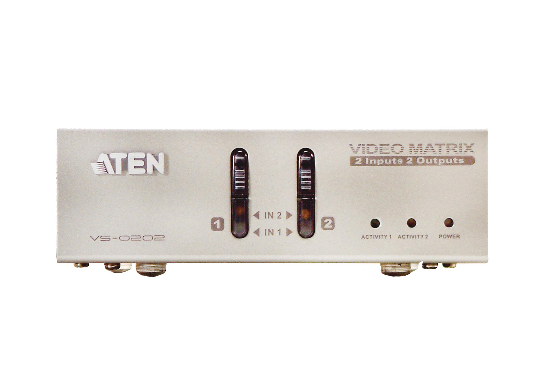 2x2 VGA/音频矩阵式影音切换器-3