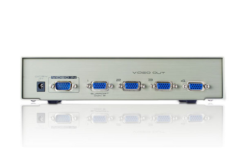 4-Port Video Splitter-2