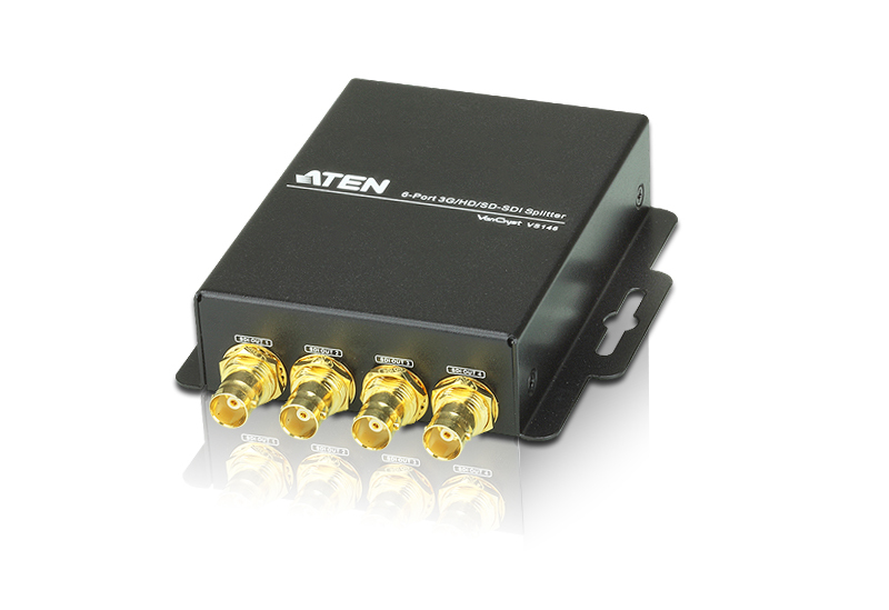 6-Port 3G-SDI Splitter-1